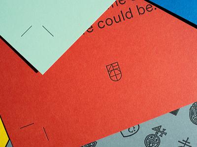 PC color real estate alabama print identity letterpress birmingham devote