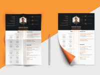 Creative CV for Designers #view2