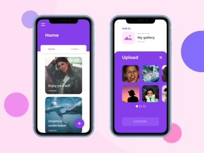 Mobile App Design #001