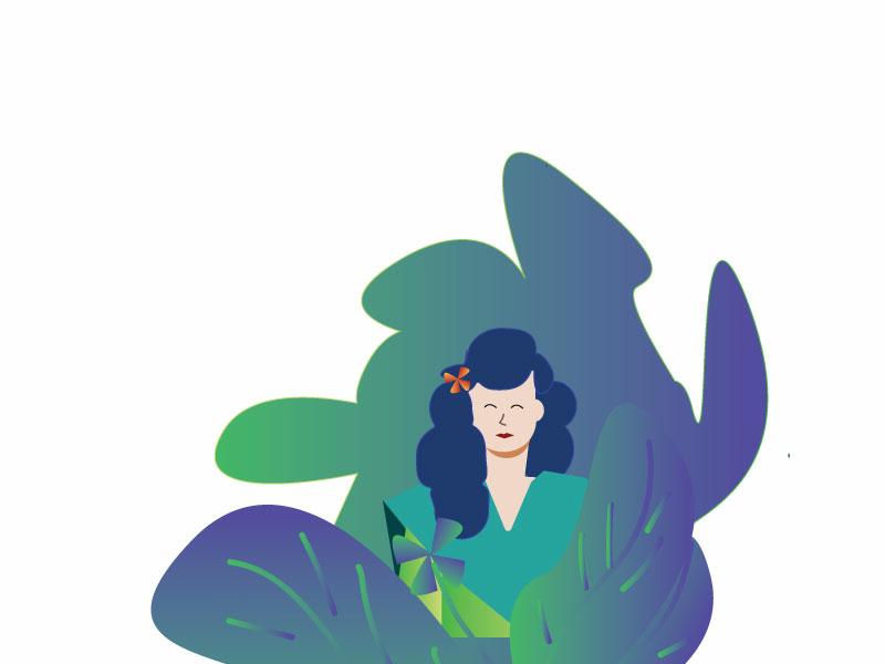 Green design illustration