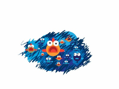 Fish illustration design