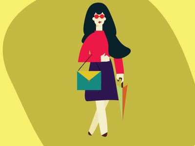 Lady1 vector design illustration