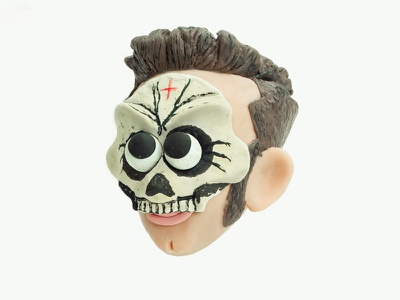 SALMO swag rap italian rapper caricature characterdesign character faces clay sculpiting modelling plasticine