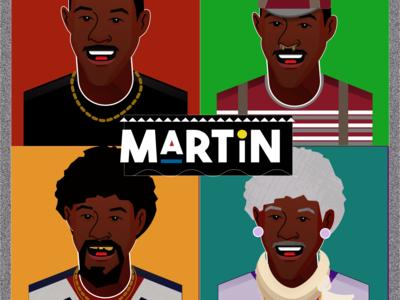 The Martin Show card