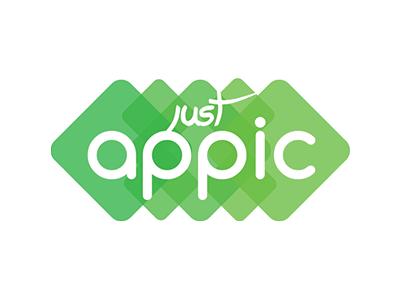 JustAppic Logo logo
