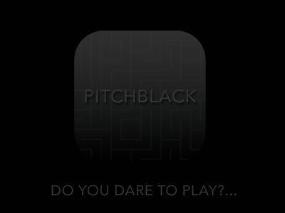 PitchBlack game pitchblack icon ios7 play app clean minimal