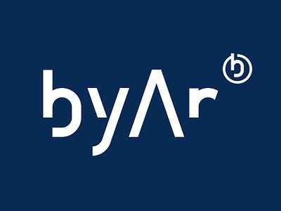 byAr logo icon logo design design logo