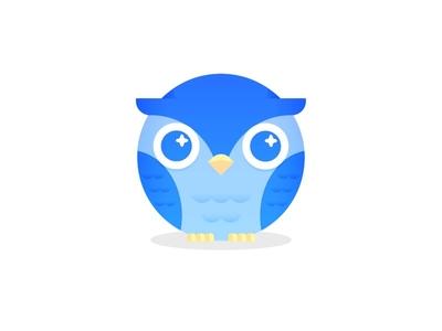 Owl cute perch eyes bird owl