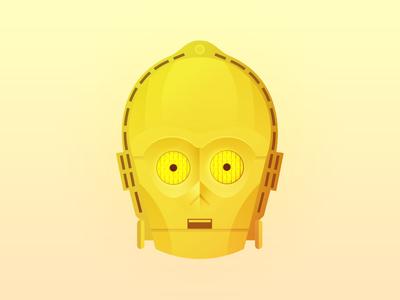 C3PO robot android star wars c3po