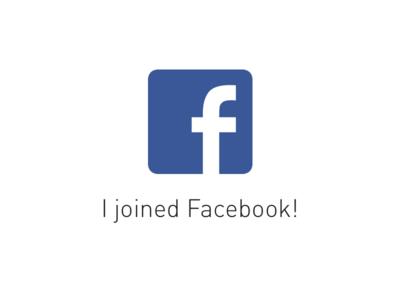I joined Facebook! facebook job