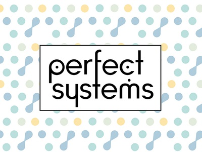 Perfect Systems psd awesome amazing stars space programming systems perfect logotype flat branding logo