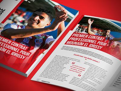 AC Ajaccio Edition sports branding ligue 1 ligue 2 football sport ac ajaccio book editorial edition