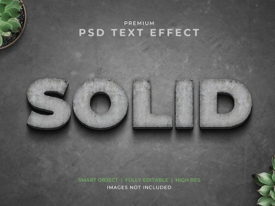 Realistic 3D Stone Cut Text Effect Mockup 3d realistic wall cement stone graphic design design typography text mockup text effects text effect text