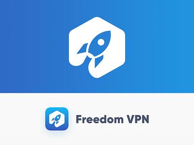 Freedom VPN freedom blue ios space rocket vpn icon app