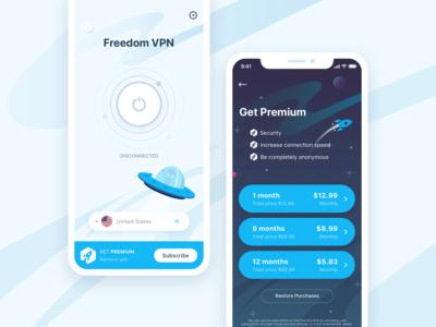 VPN application