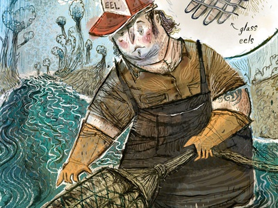 Glass Eel Harvesting - Charleston City Paper, Dirt Issue delicacy south carolina river eels glass eels