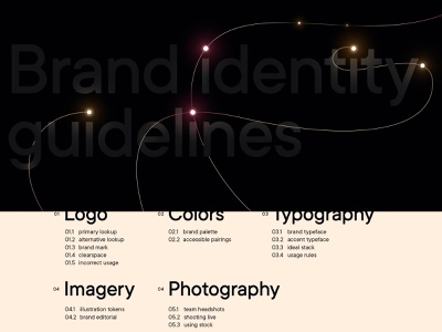 Jolocom brand guidelines glow lights deep tech identity decentralization web3 visual language guidelines brand book brand guidelines
