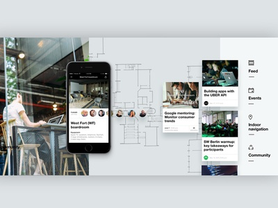 Factory app I Network of co-working spaces