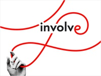 Involve Inc. brand identity - case study cover