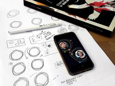 Jolocom new visual language - sketches