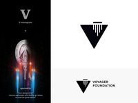 Voyager Foundation logo idea