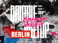 "more ""Berlin-ish"" Dribbble Berlin meetup cover"