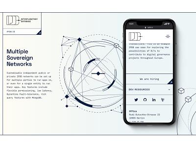IPDB rebranding - case study teaser rebranding brand identity policy web3 decentralisation blockchain governance nonprofit foundation