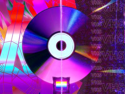VHS Disc Poster