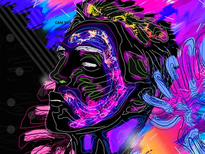 Drawing Poster design daily retro everydays cyberpunk everyday art abstract art vaporwave poster art artwork gradient abstract iridescent colorful klarens sketch tablet poster draw drawing