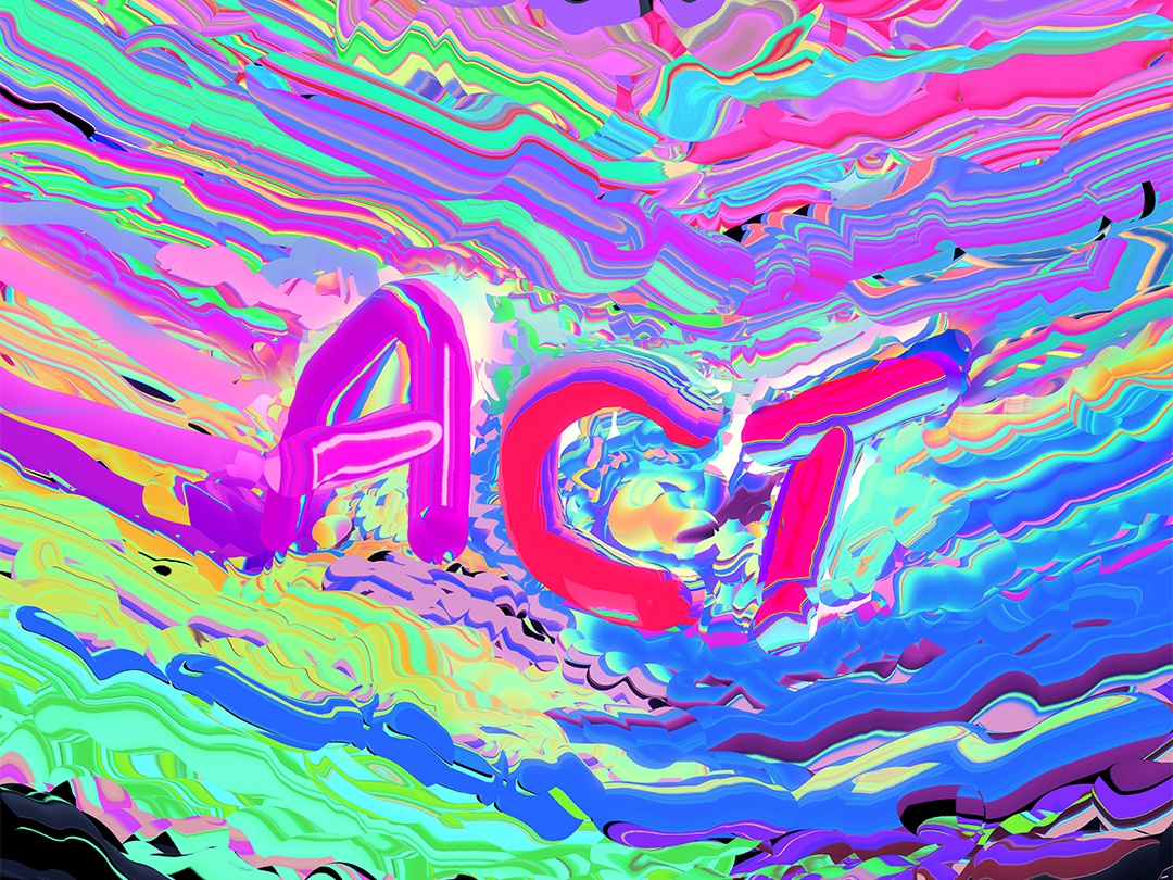 Act Poster Art Behance Livestream everyday art abstract art poster art artwork iridescent poster gradient colorful colorfull abstract typography art typography act klarens behance project partner adobe photoshop adobe livestream behance