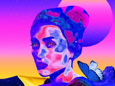 Trippy Art Poster - TUTORIAL