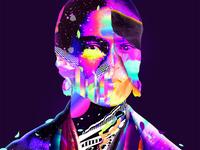 Frida Collage Art