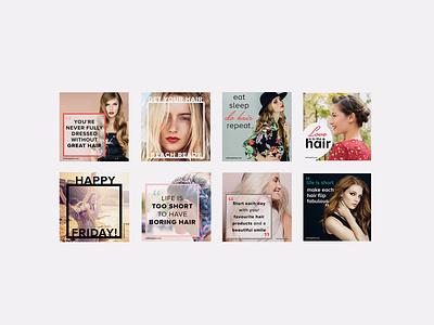 ATH Instagram posts digital photoshop social media instagram graphic design branding