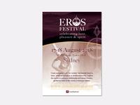 Eros Festival Flyer