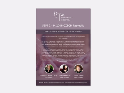Ista Flyer promotion print layout indesign flyer typography graphic design branding