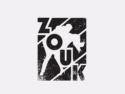Zouk t-shirt print design illustrator print vector promotion photoshop typography illustration graphic design branding