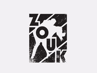 Zouk t-shirt print design