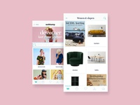 Wehkamp - App design