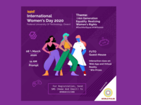 International Women s Day Event Poster