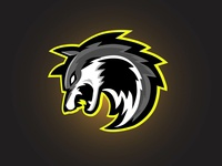 Grey Wolf Esport Gaming Logo