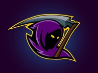 Esport Grim Reaper Logo