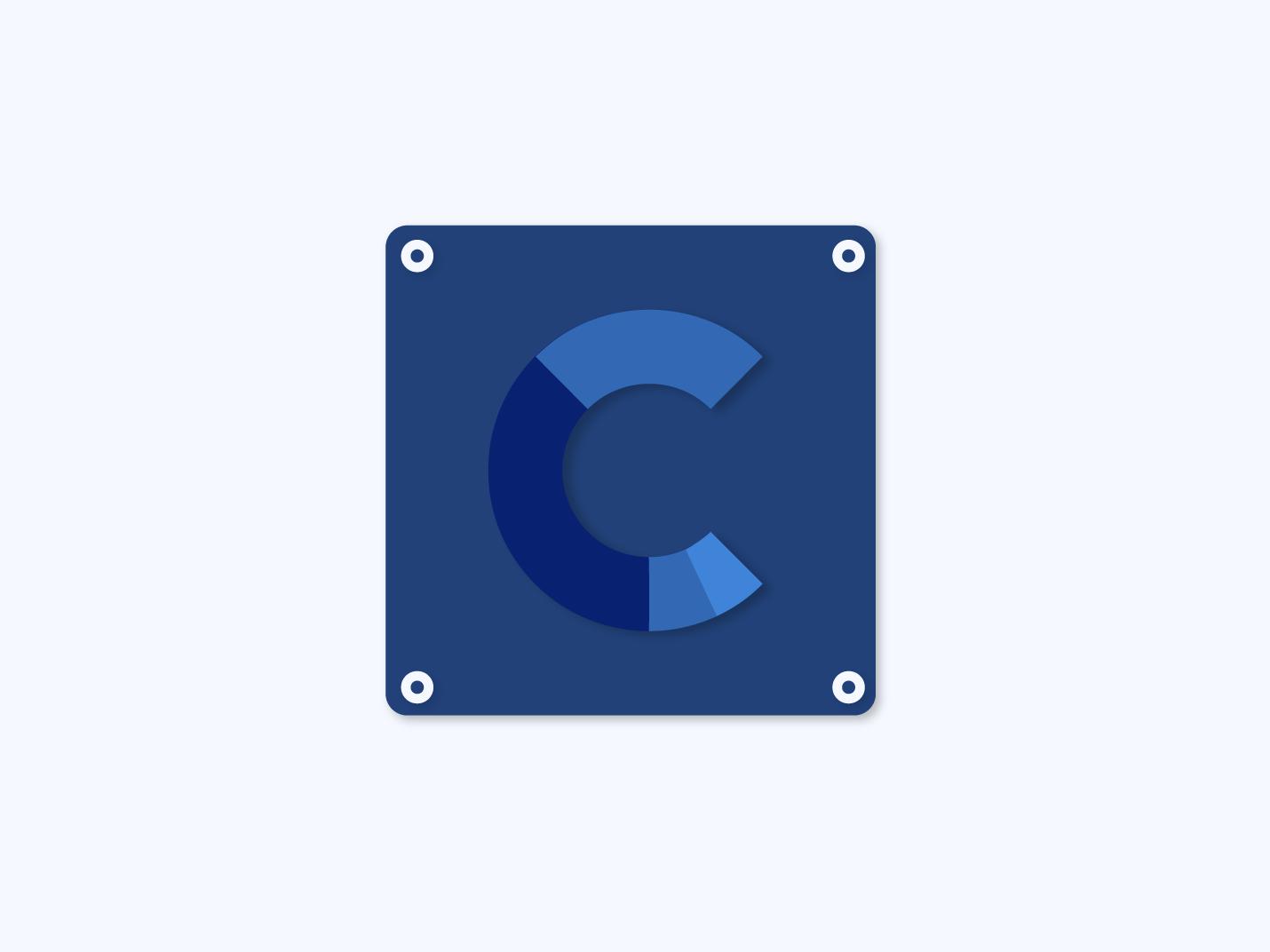 Daily UI challenge #005 graphic app logo dailyui