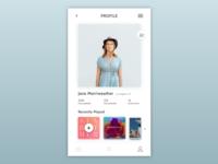 Daily UI 6 Profile