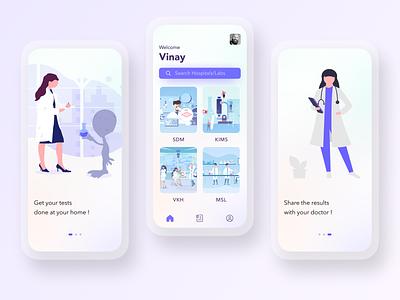 HomLab App Concept animation adobe illustrator branding app design ui design ui ux adobe photoshop figma adobe xd