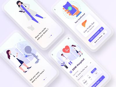 Some More Screens from HomLab App Concept. adobe illustrator app design user experience ui design adobe photoshop adobe xd figma ux ui