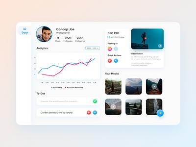 A Simple Dashboard Design ! user experience ux ui design app design figma adobe illustrator adobe photoshop adobe xd