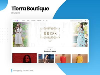 Women's Online Boutique & Clothes Website Design, UIUX clothes shop online shopping womens clothes website design and development clothes website design clothing brand