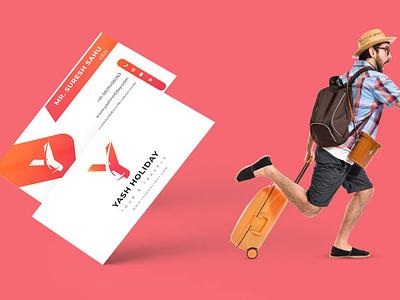 Visiting Card web creative card design travel agency card agency card visitingcard