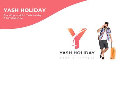 visiting Card Front travel agency travel agency card branding agency card visitingcard illustration web design