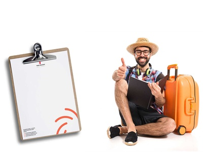 Template Design letterhead design creativity template template design travel agency logo branding design